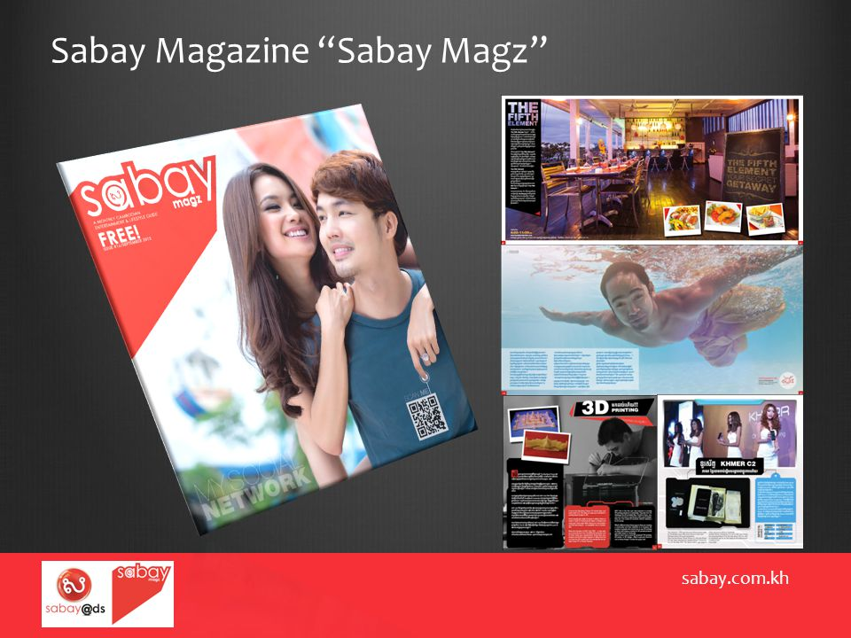 "Sabay Magazine ""Sabay Magz"" sabay.com.kh"