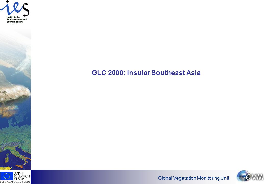 Global Vegetation Monitoring Unit GLC 2000: Insular Southeast Asia