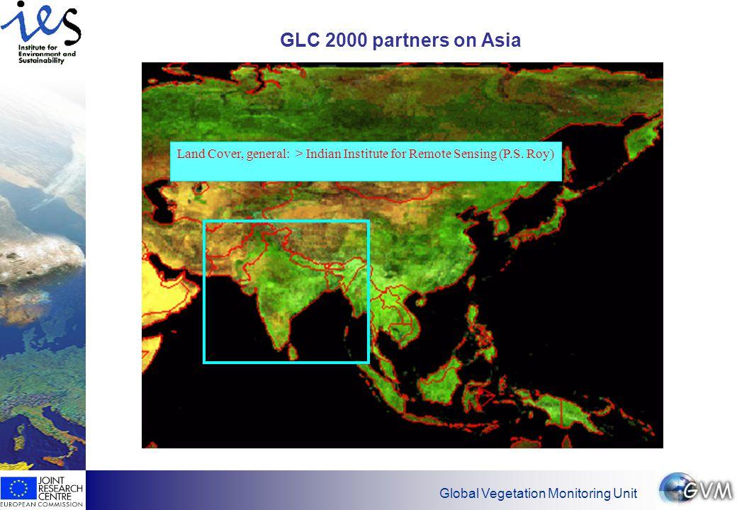 Global Vegetation Monitoring Unit Present status of map