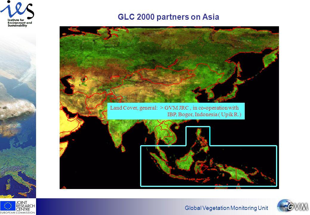 Global Vegetation Monitoring Unit GLC 2000 partner on Middle East-Afghanistan-Kazakstan Land Cover, general: CERES, Chiba University, Japan, (Mr.