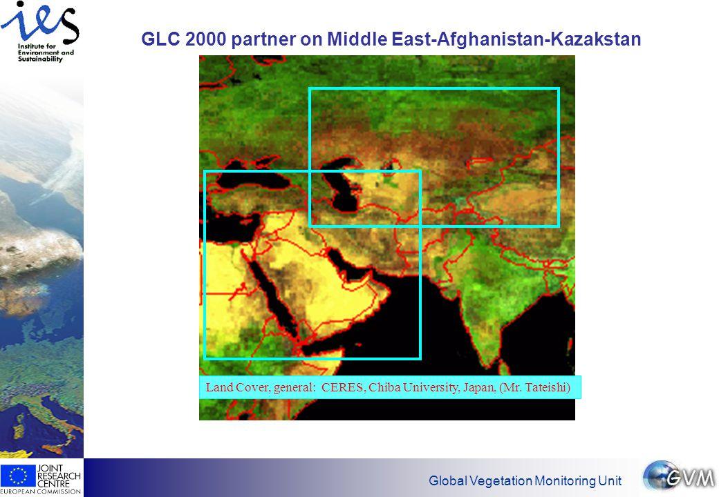 Global Vegetation Monitoring Unit GLC 2000 partners: Oceania .