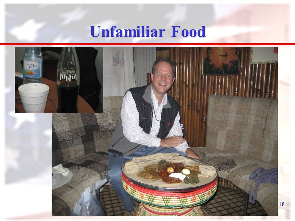 18 Unfamiliar Food