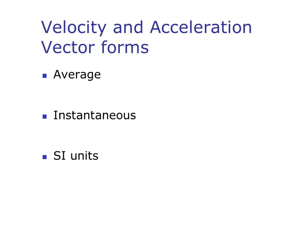 Acceleration How can an Object change acceleration?