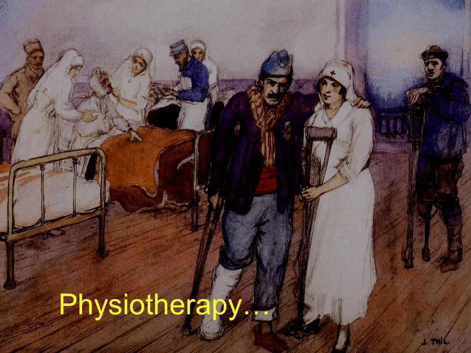 Sauver et soigner à VERDUN 4-5 novembre 2006 Physiotherapy…