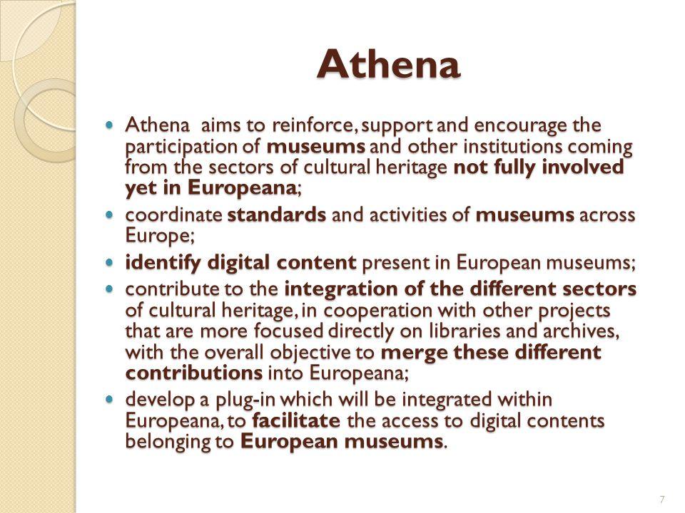 Metadata schemas Europeana Semantic Elements (ESE) Dublin Core/ Qualified Dublin Core Marc/ Unimarc Local metadata 18