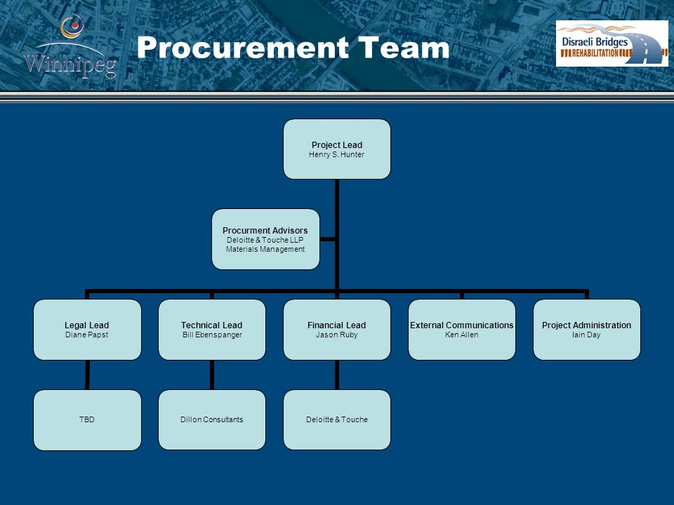 Procurement Team Project Lead Henry S.