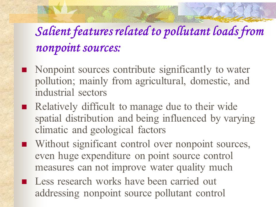 Objectives of this research: To develop a model to optimize the allocation of pollutant loads from nonpoint sources in a watershed by combining the application of optimization theory and GIS technique considering each polygon of land use as an individual land management unit (LMU) and to apply the model to an area of interest.