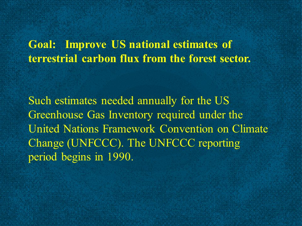 In Southeast, net emission until 1940's, then generally sequestration Woodbury et al.