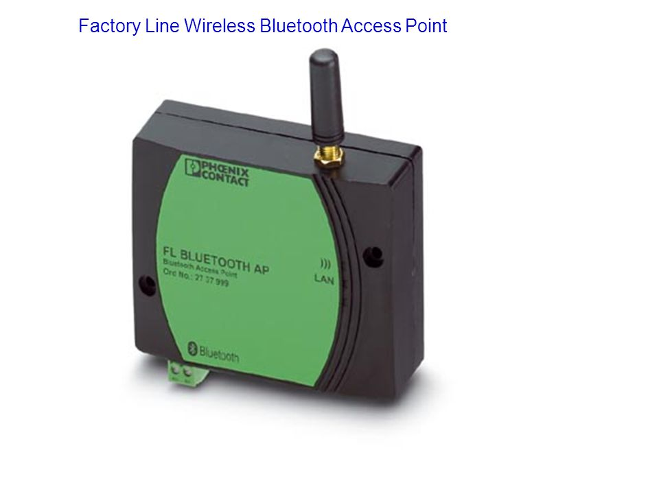 Factory Line Wireless Bluetooth Access Point