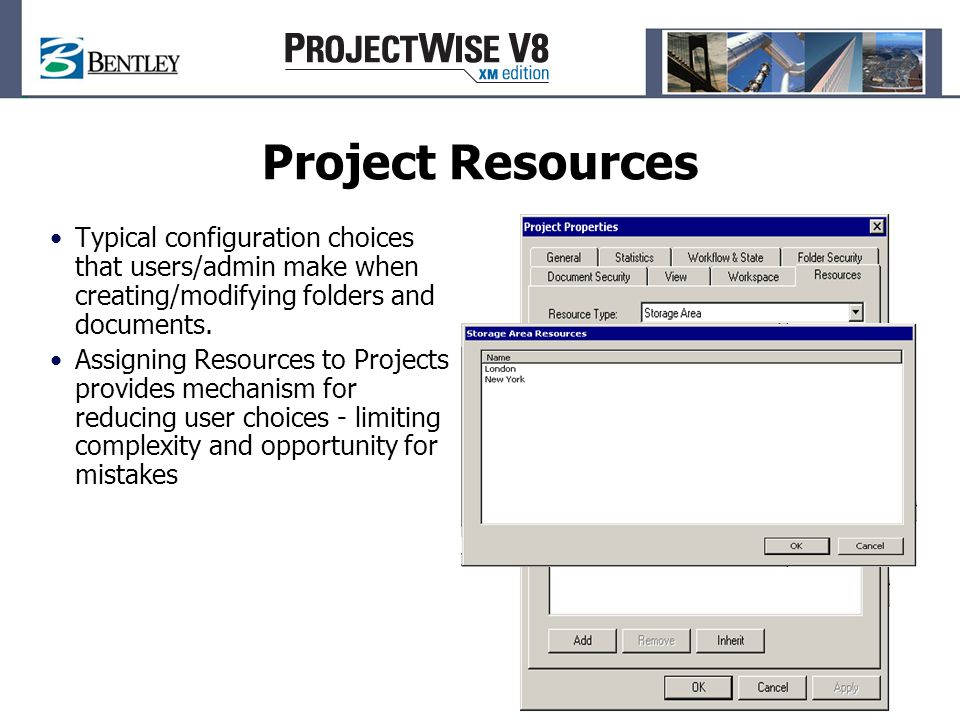 Project Templates Allows for the quick creation of new projects based on the settings of an existing template project Supports copying of selected contents of template project Presents pick-list of templates or allows user to browse for any existing project to use as a template