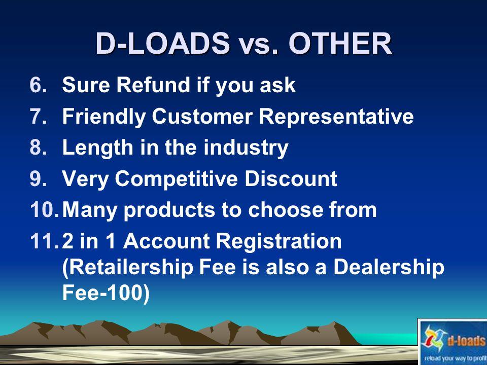 D-LOADS vs.