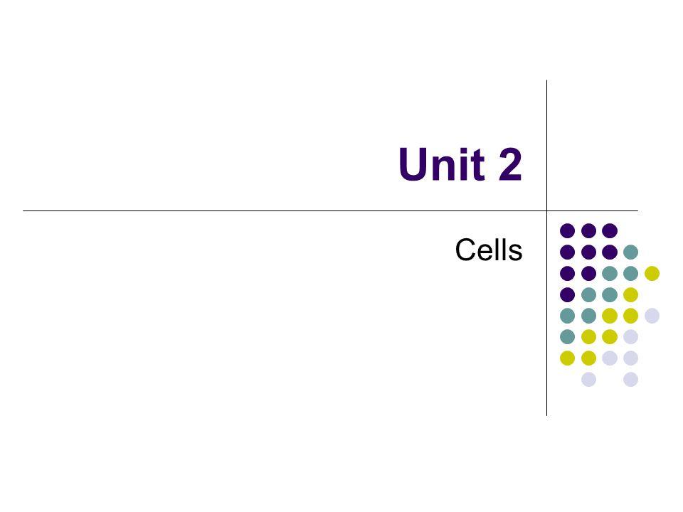 Unit 2 Cells