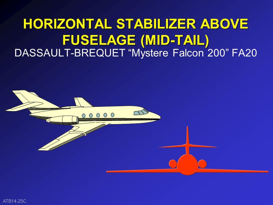 FORWARD SLANT VERTICAL STABILIZER Mooney Mark 21 M20 ATB14-25B