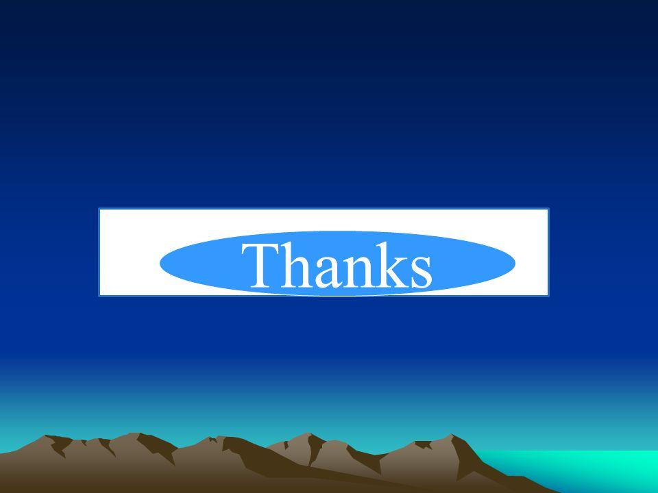 Thanks… Thanks