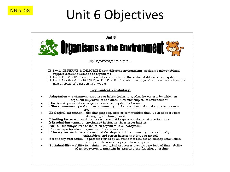Ecosystems Q 3 & B 1/21/15 & 1/22/15 Q 3: (Write the question & the answer on p.