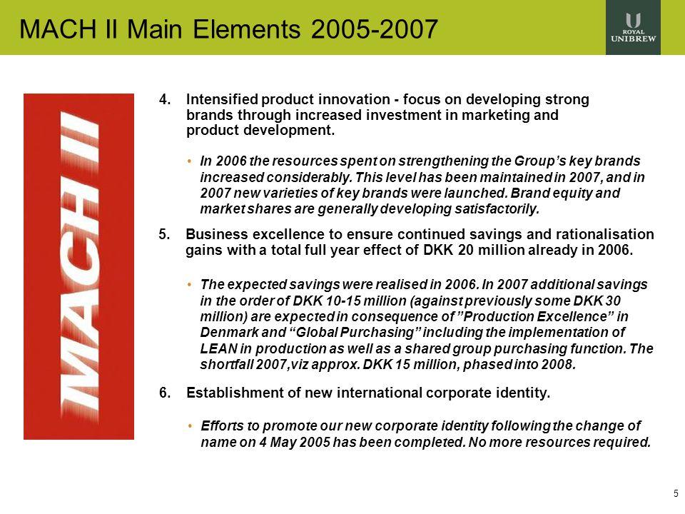 5 MACH II Main Elements 2005-2007 4.