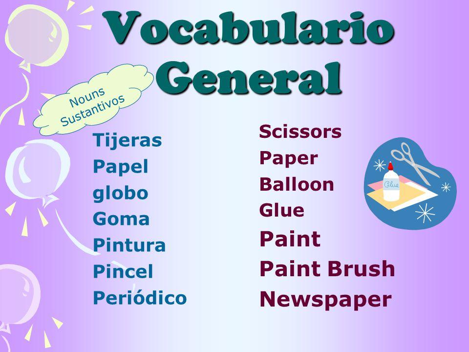 Vocabulario General Cone Starch Model Photo Drawing Carton Fringe Cono Estarcha Modelo Foto Dibujo Cartón Tiras More.