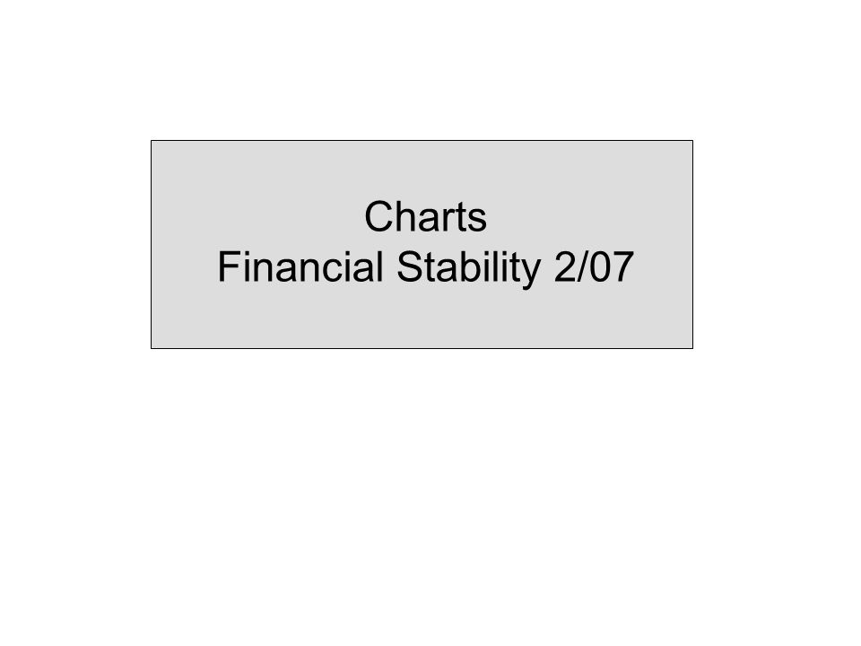 Charts Financial Stability 2/07