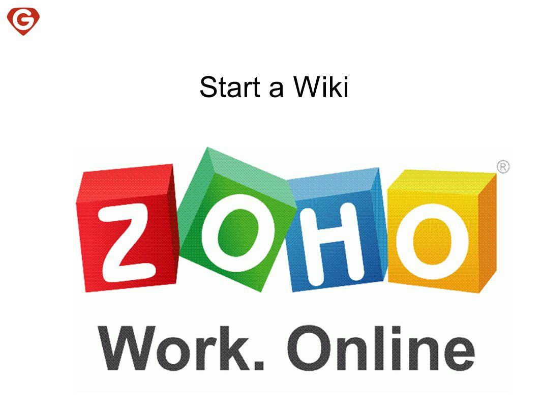 Start a Wiki