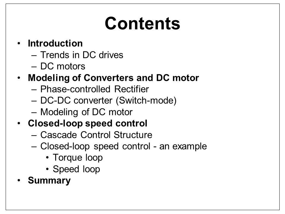 CLOSED-LOOP SPEED CONTROL Torque controller design Open-loop gain compensated k pT = 90 k iT = 18000