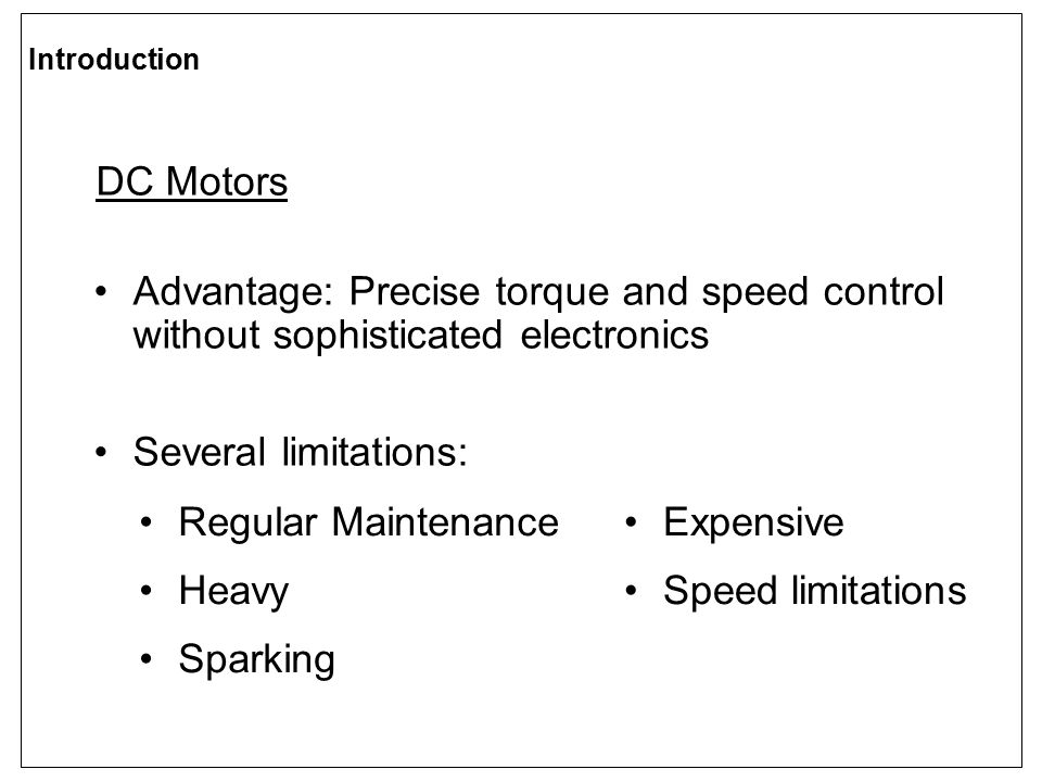 CLOSED-LOOP SPEED CONTROL Speed controller Open-loop gain compensated k ps = 0.2 k is = 0.14 compensated