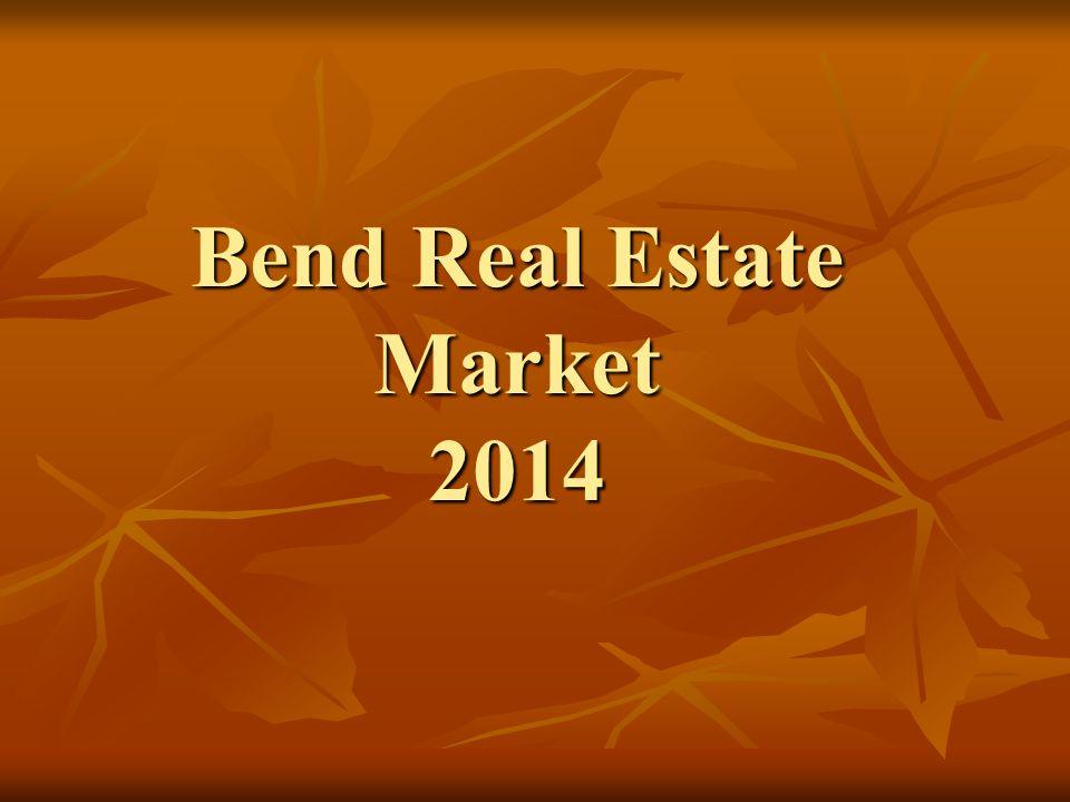 Bend Real Estate Market 2014