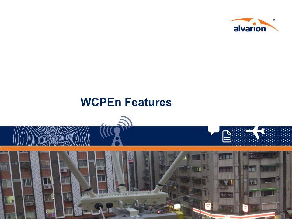 WCPEn Features