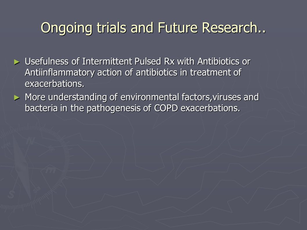 Ongoing trials and Future Research..
