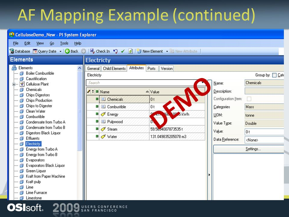 AF Mapping Example (continued) DEMO