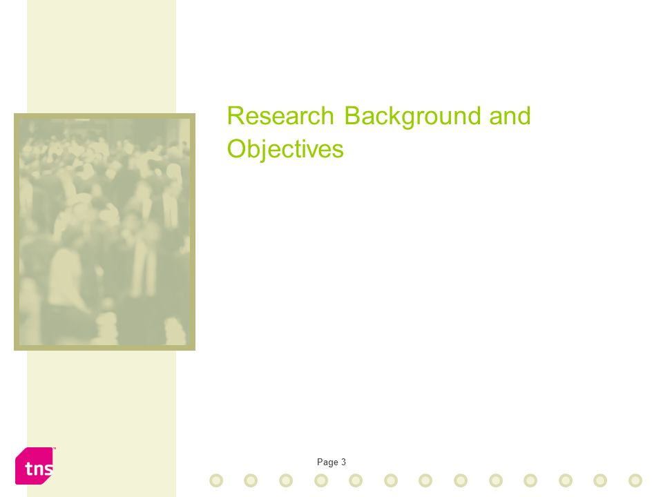 Page 3 Research Background and Objectives