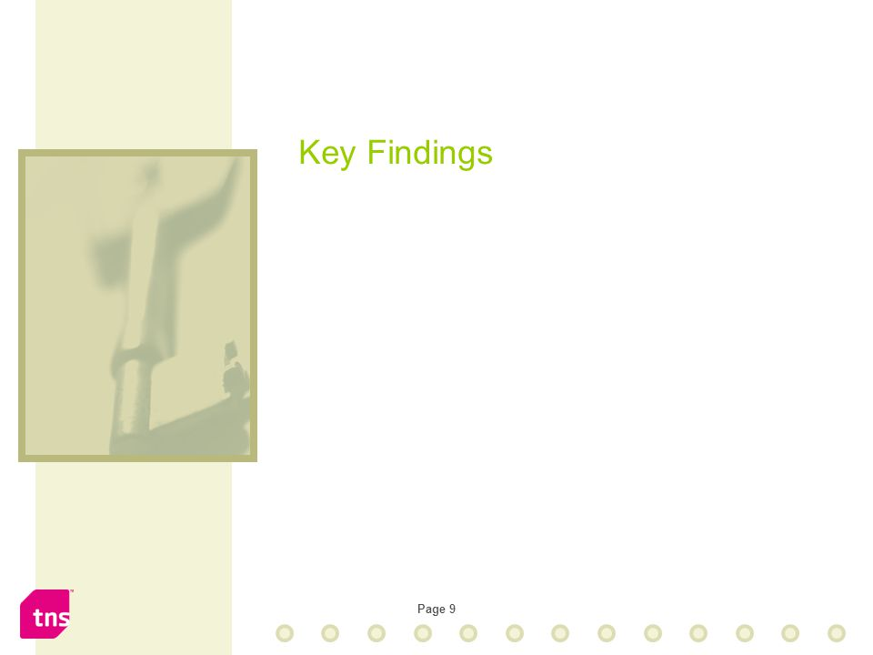 Page 9 Key Findings