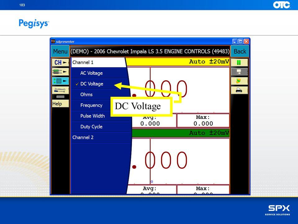 183 DC Voltage