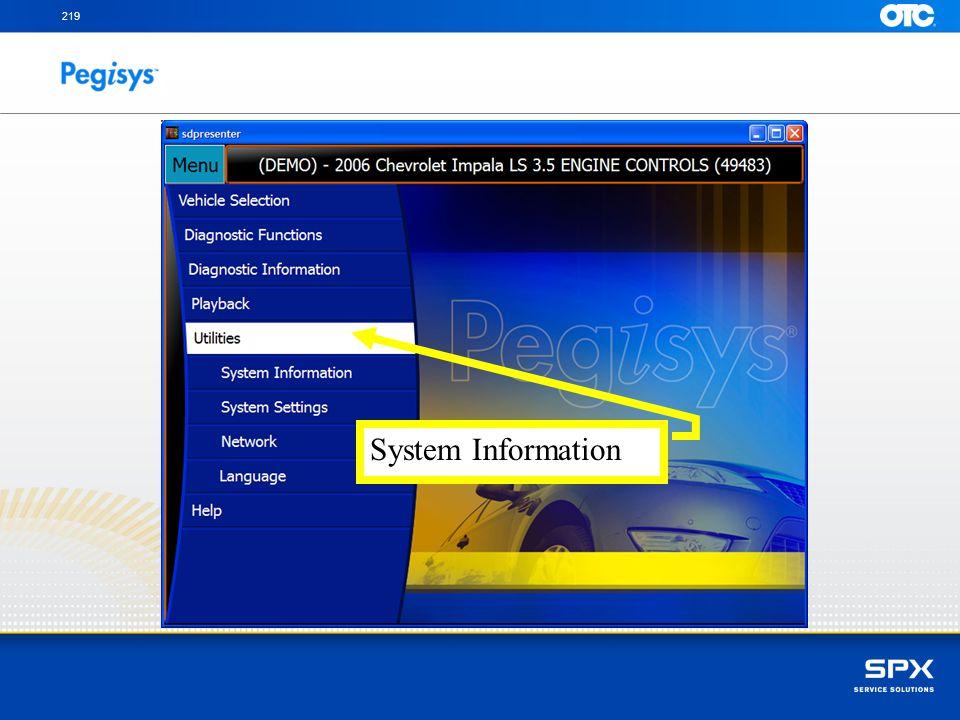 219 System Information