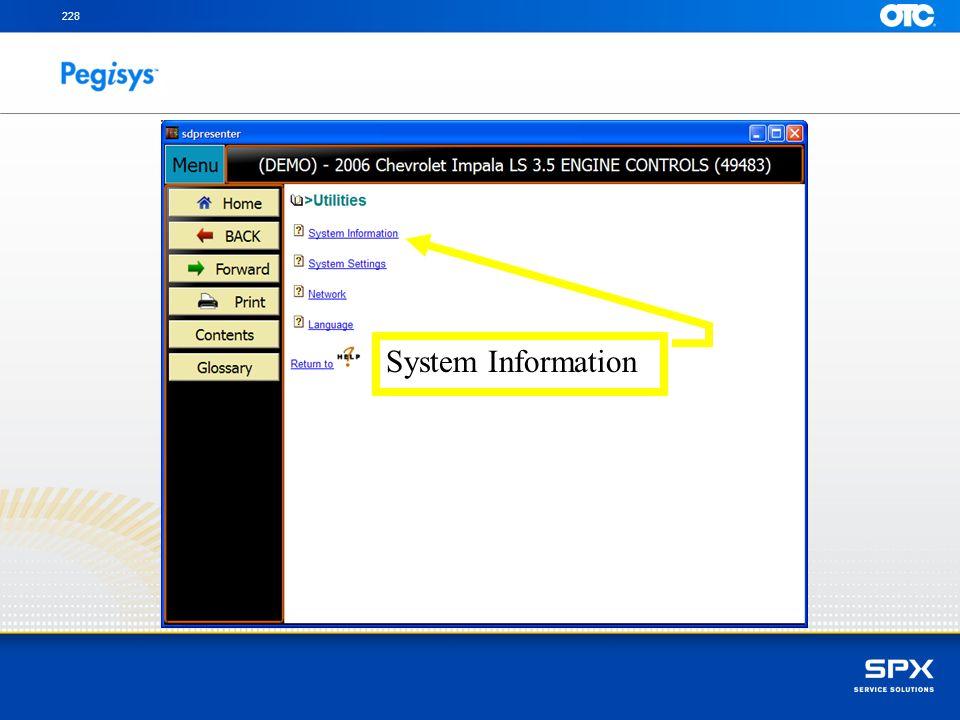 228 System Information