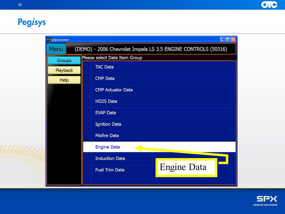 57 Engine Data
