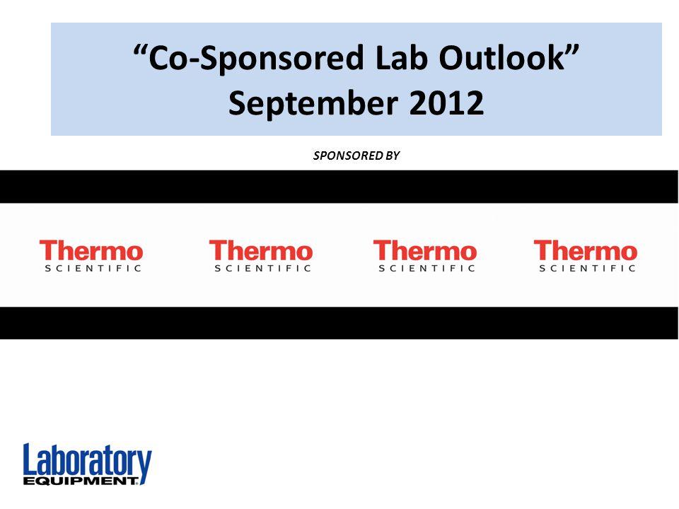 Co-Sponsored Lab Outlook September 2012 SPONSORED BY