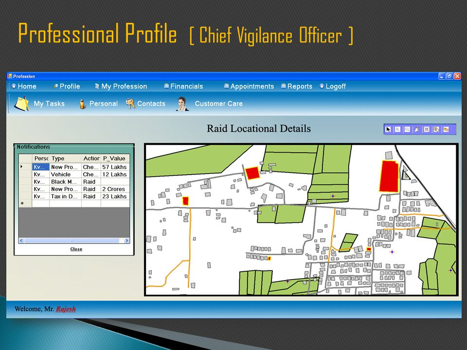 Professional Profile [ Chief Vigilance Officer ]