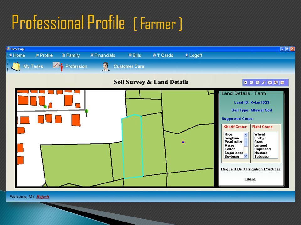 Professional Profile [ Farmer ]