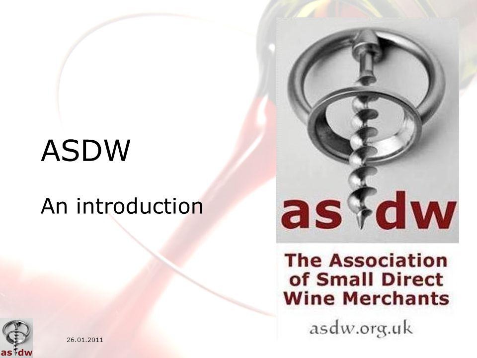 1/13 ASDW An introduction 26.01.2011