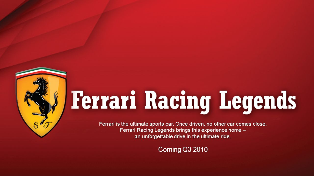 Ferrari is the ultimate sports car. Once driven, no other car comes close.