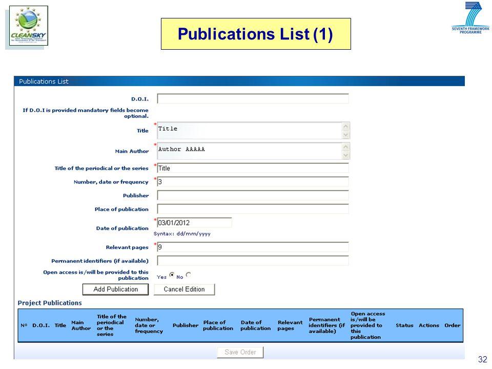 32 Publications List (1)