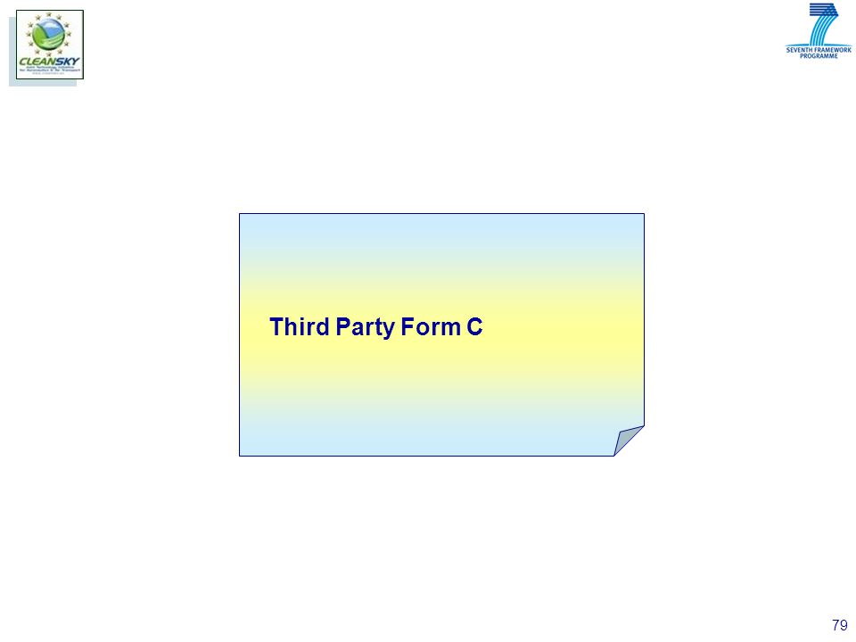 79 Third Party Form C