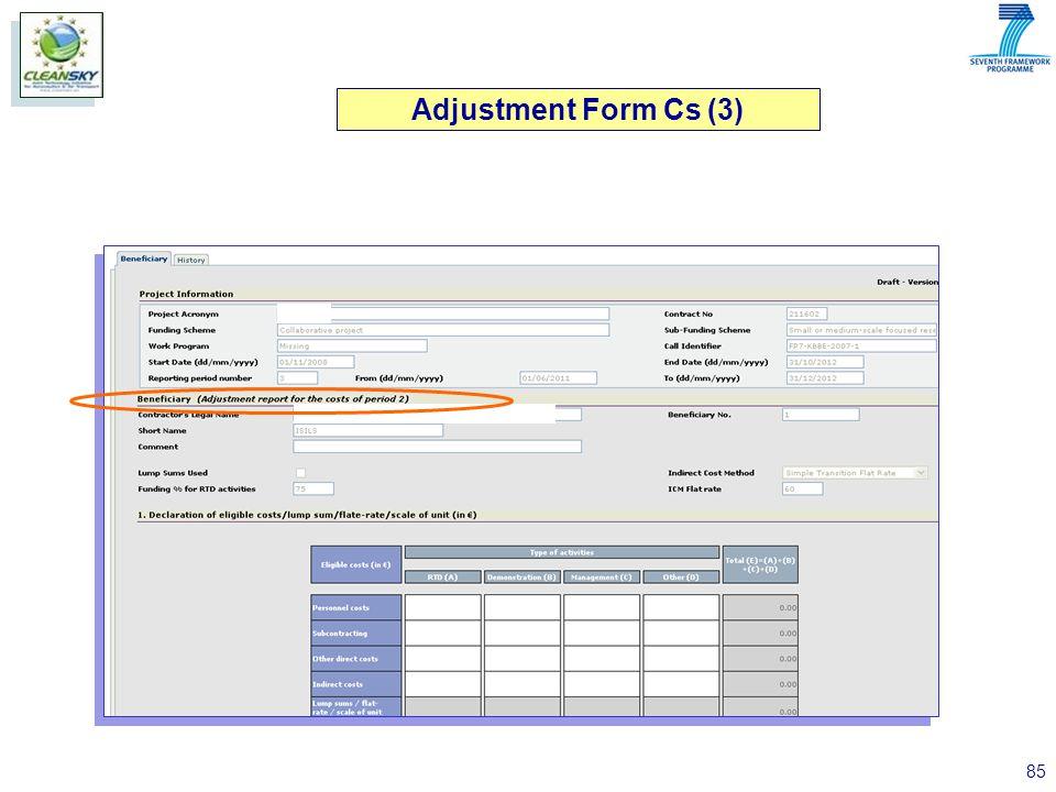 85 Adjustment Form Cs (3)