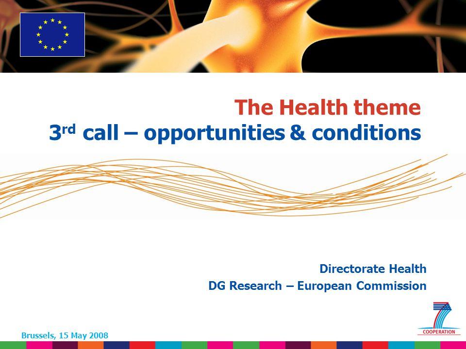52 Based on proposed draft work programme prior to final consultations 2.4.4 – Редко встречающиеся заболевания Темы предложенные на 3 ий конкурс: Редко встречающиеся неврологические заболевания.