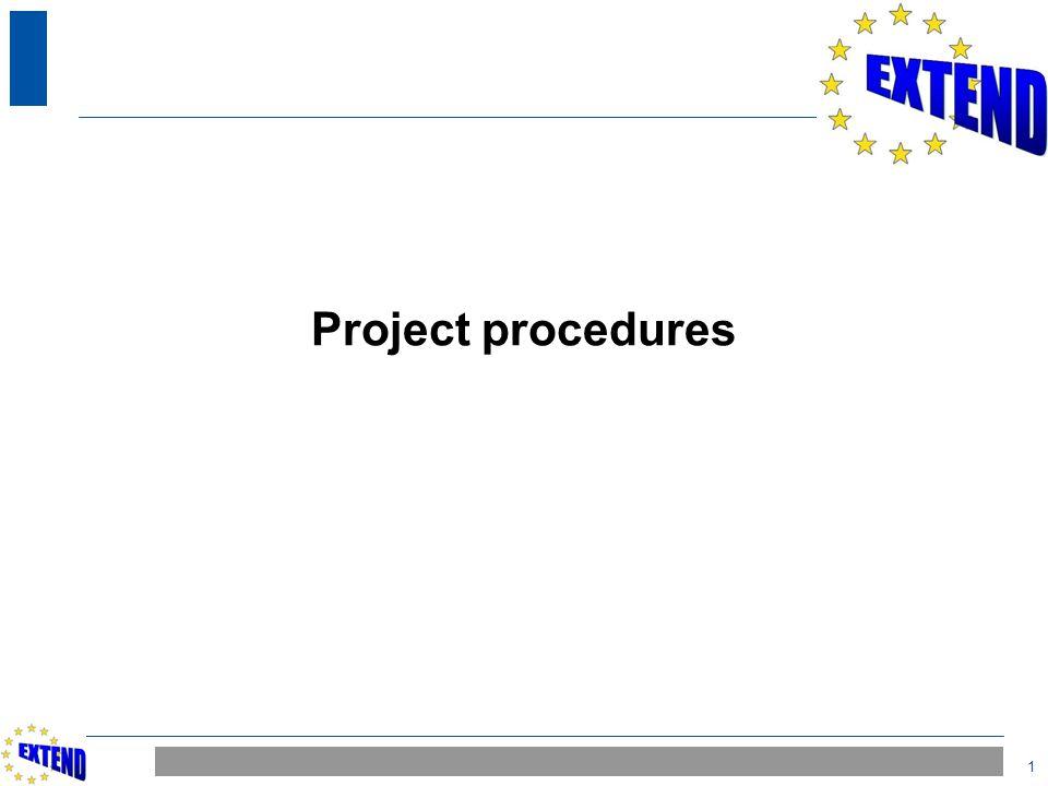 1 Project procedures