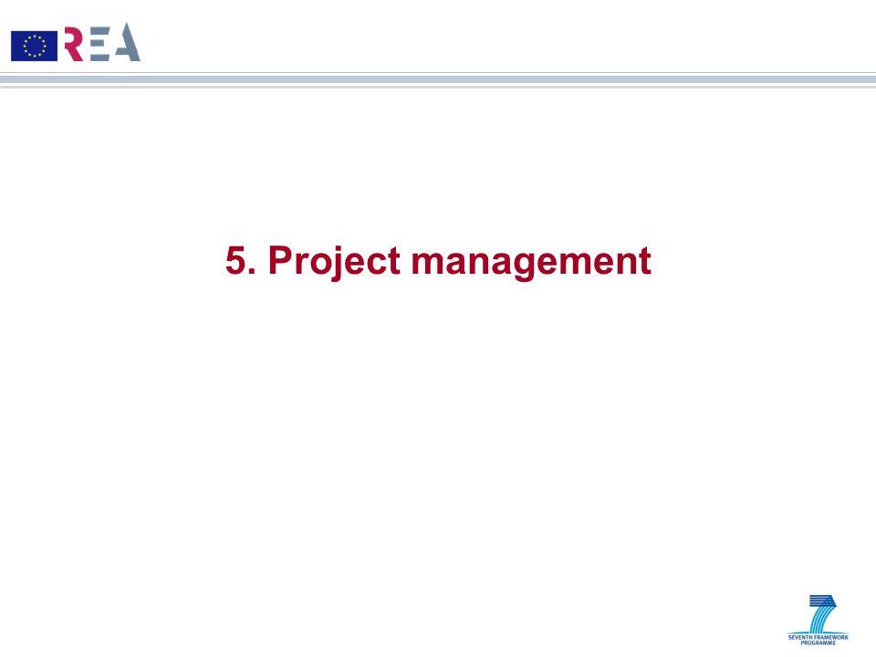 5. Project management