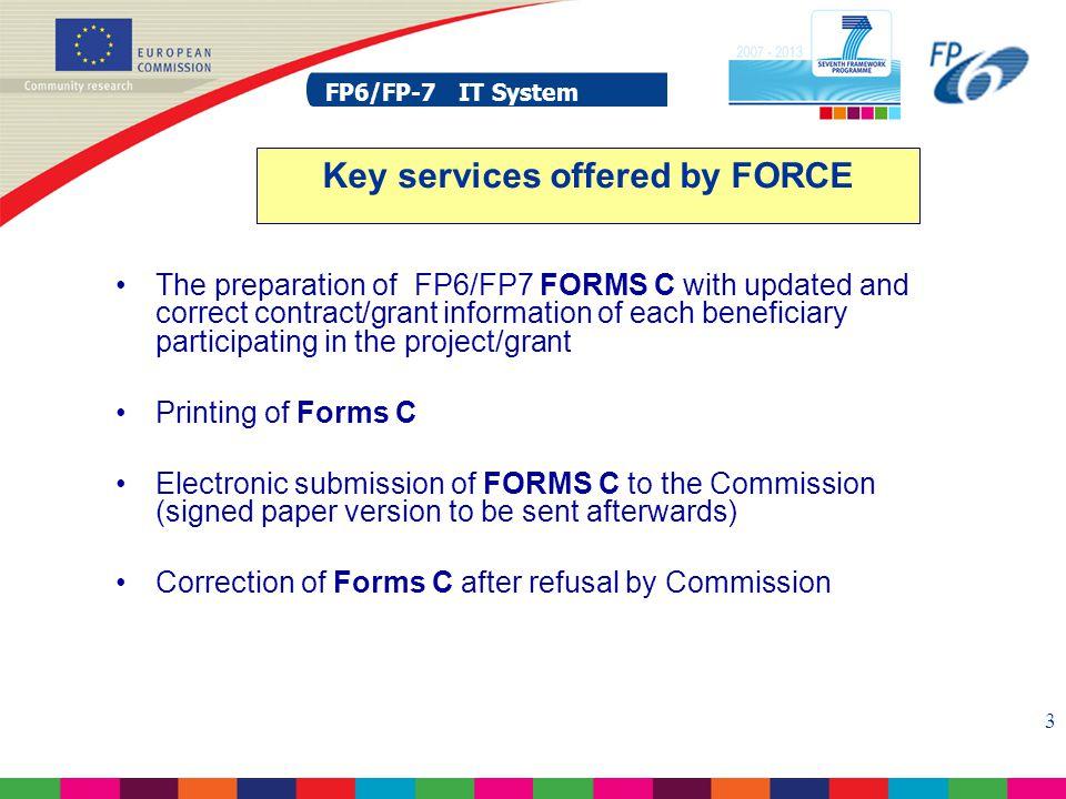 FP6/FP-7 IT System 14 FP6/FP-7 IT System SESAM – Login
