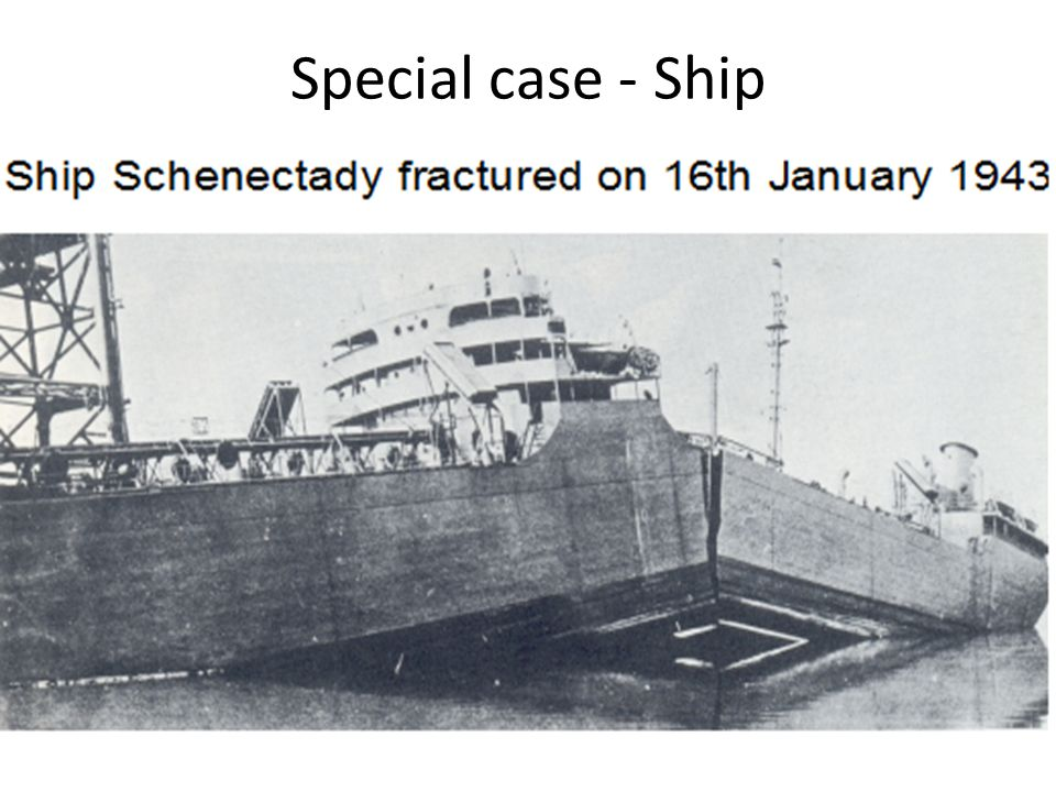 Special case - Ship