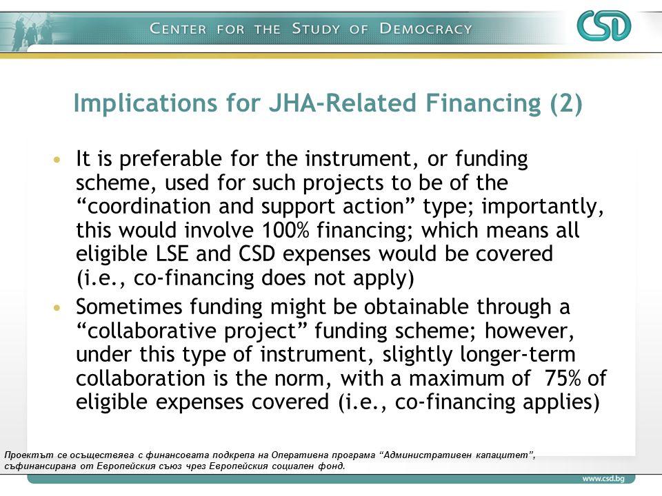 Проектът се осъществява с финансовата подкрепа на Оперативна програма Административен капацитет , съфинансирана от Европейския съюз чрез Европейския социален фонд.
