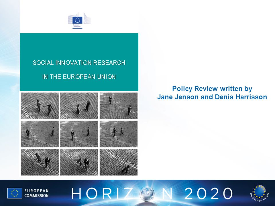 Policy Review written by Jane Jenson and Denis Harrisson